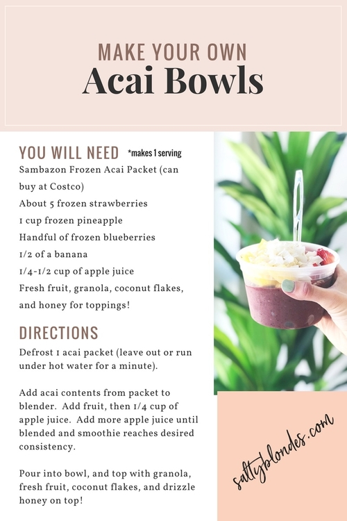 How to Make the Perfect Acai Bowl