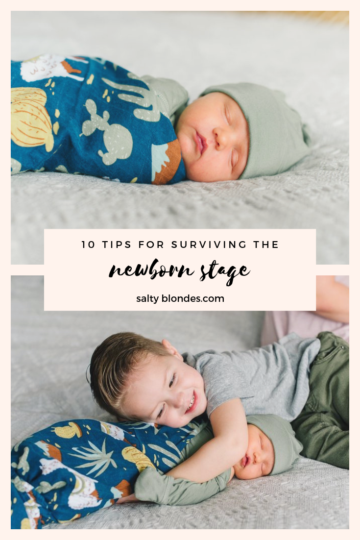 Surviving the New born Stage | Salty Blondes