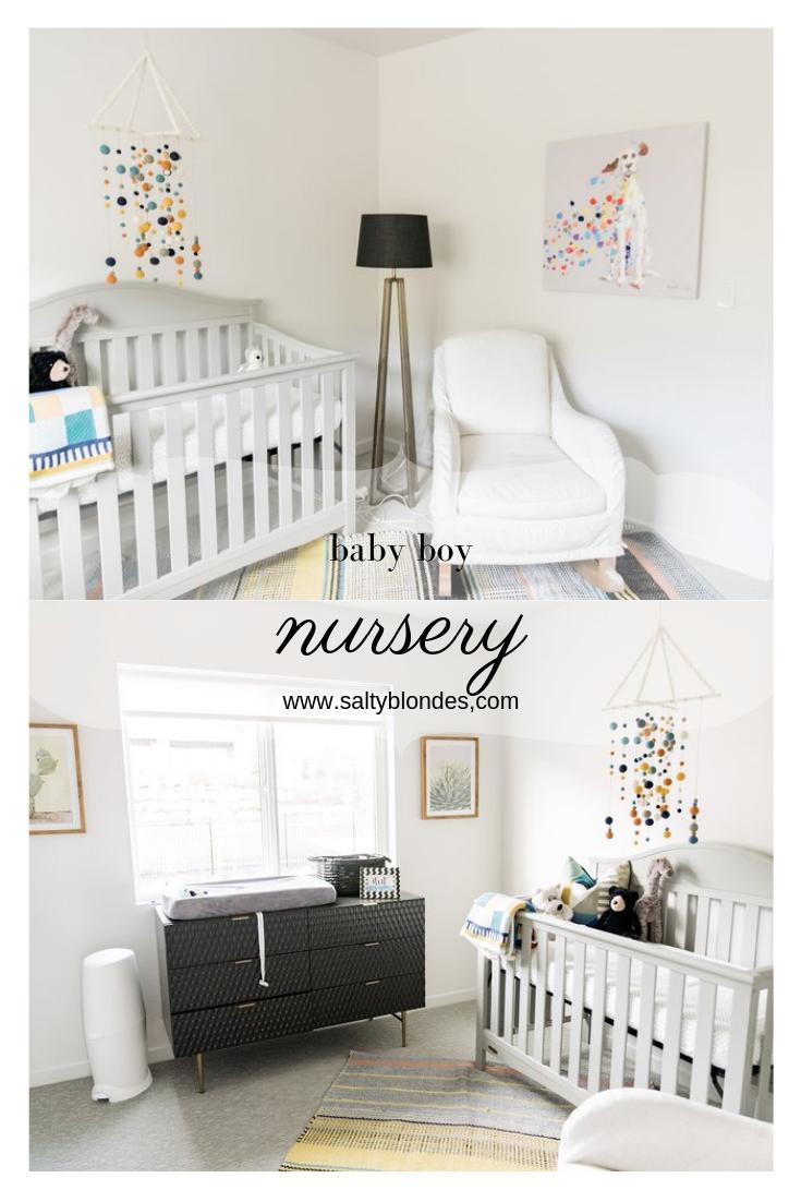 baby boy nursery | Salty Blondes