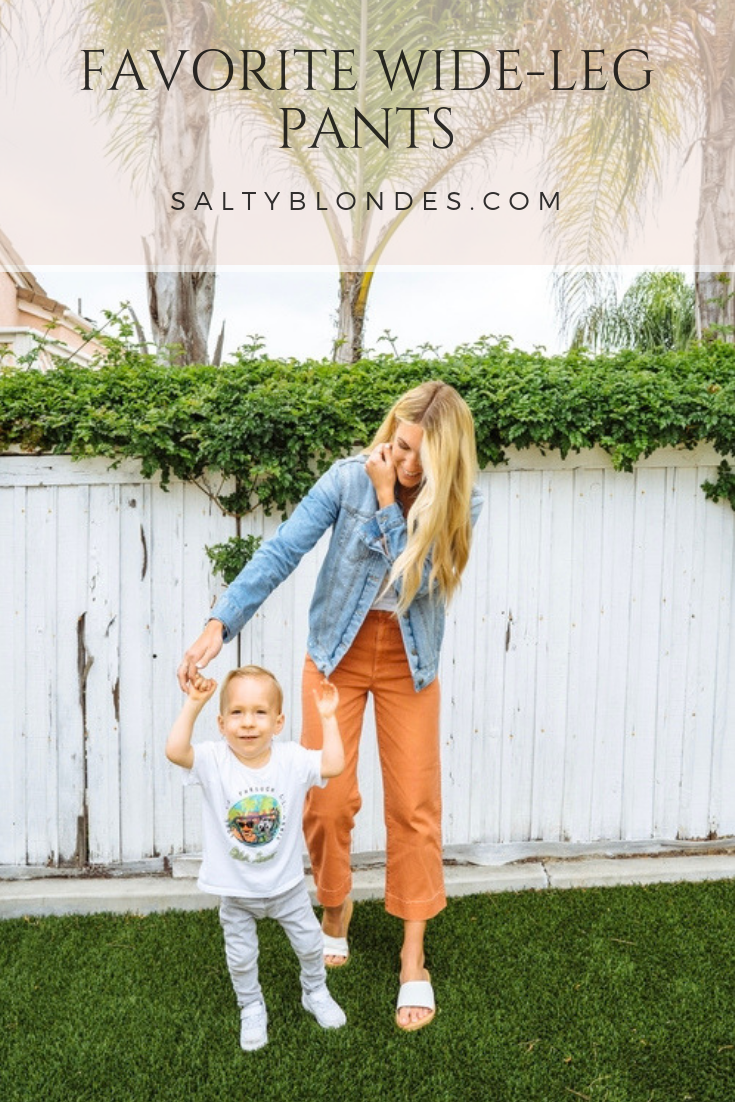 Wide Leg Pants | Salty Blondes