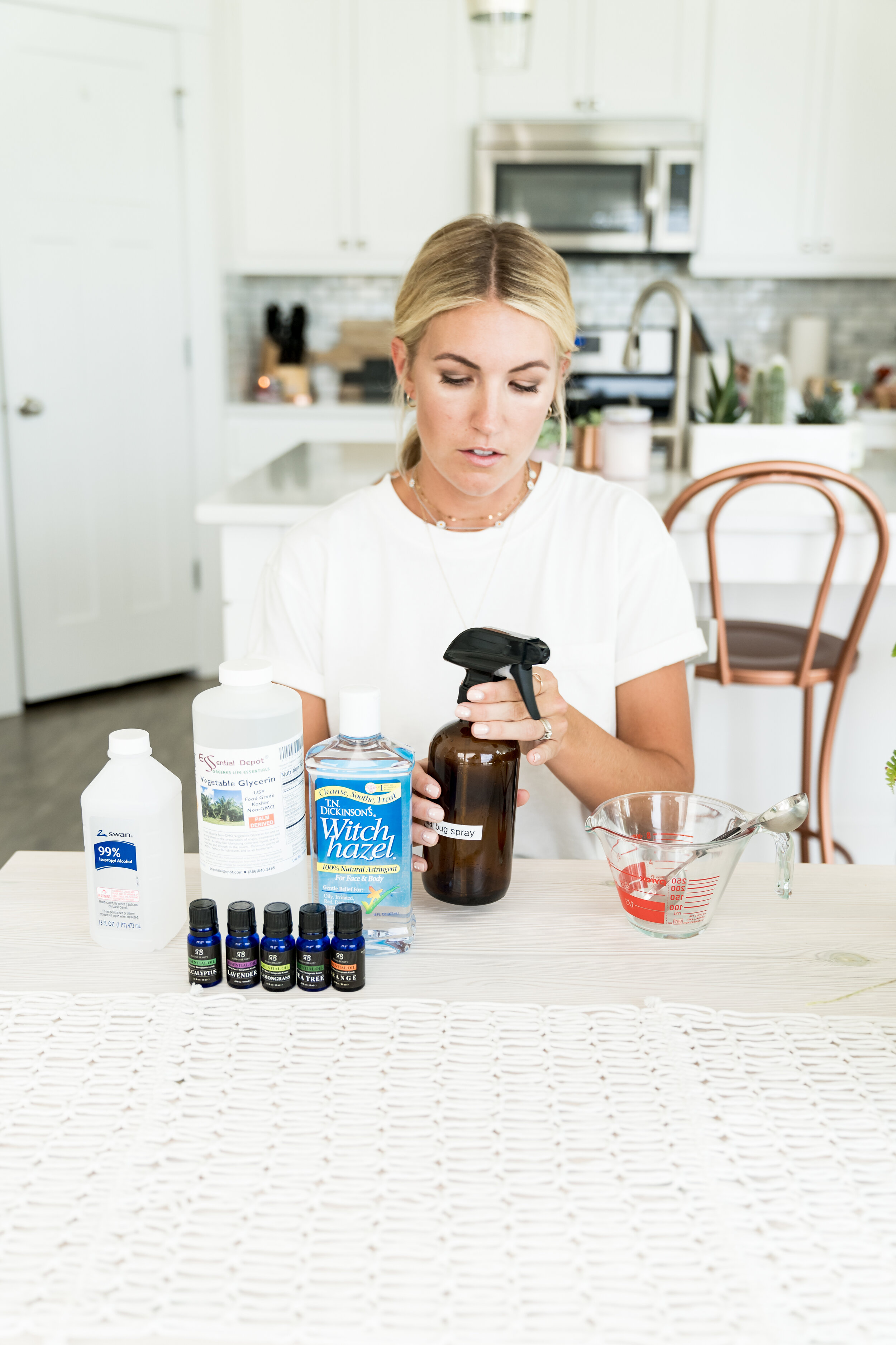 Salty Blondes | All Natural Bug Spray