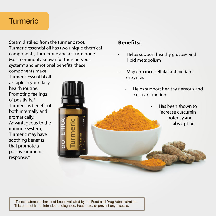 doTERRA Turmeric Essential oil is a true essential oil done via steam distillation and not a CO2 extraction.