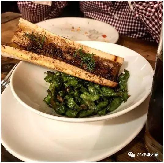 Bone Marrowand Spinach Gnocchetti