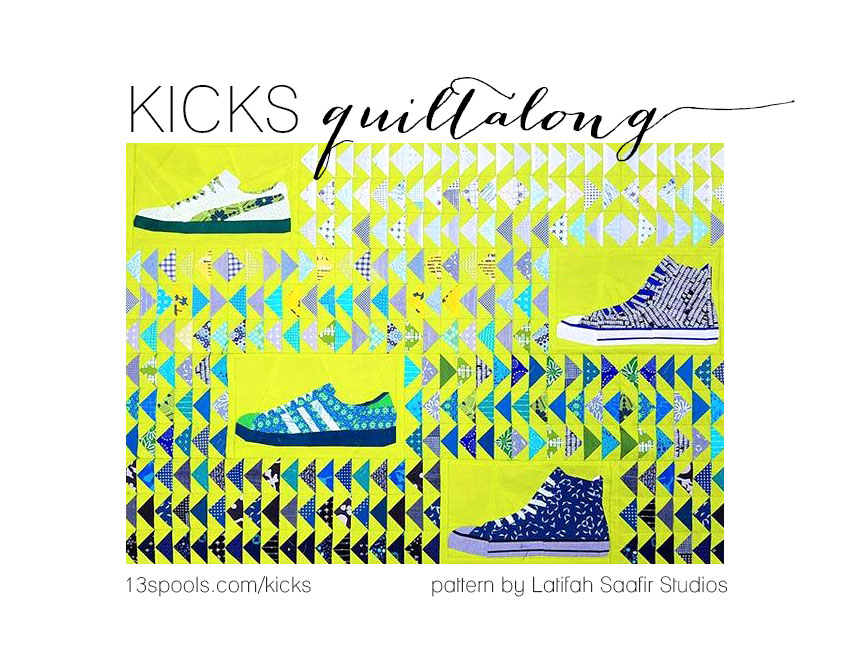kicks quiltalong