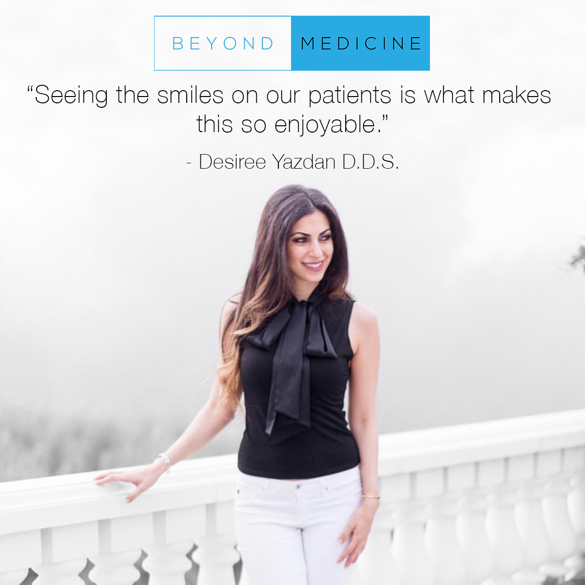 Oral Hygiene, Whiter Teeth and Smile Makeovers - Dr. Desiree Yazdan, DDS is a practicing Dentist with specialized expertise in cosmetic dentistry. She talks with us today about some common misconceptions regarding oral hygiene will guaranteed have you flossing by the end of this episode.