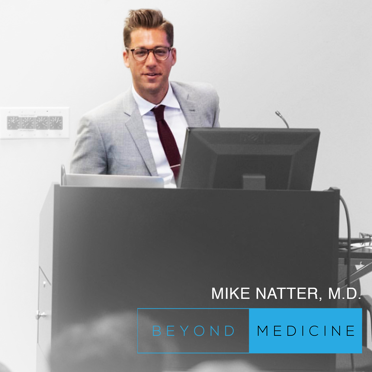 Dr. Mike Natter MD - Dr. Mike Natter MD is an Internal Medicine Resident at an NYC hospital. He shares his story with us on how he combined his talent as an artist with the practice of medicine. Through his journey, we learn the power of dedication, following your passion, and exceeding your limits.