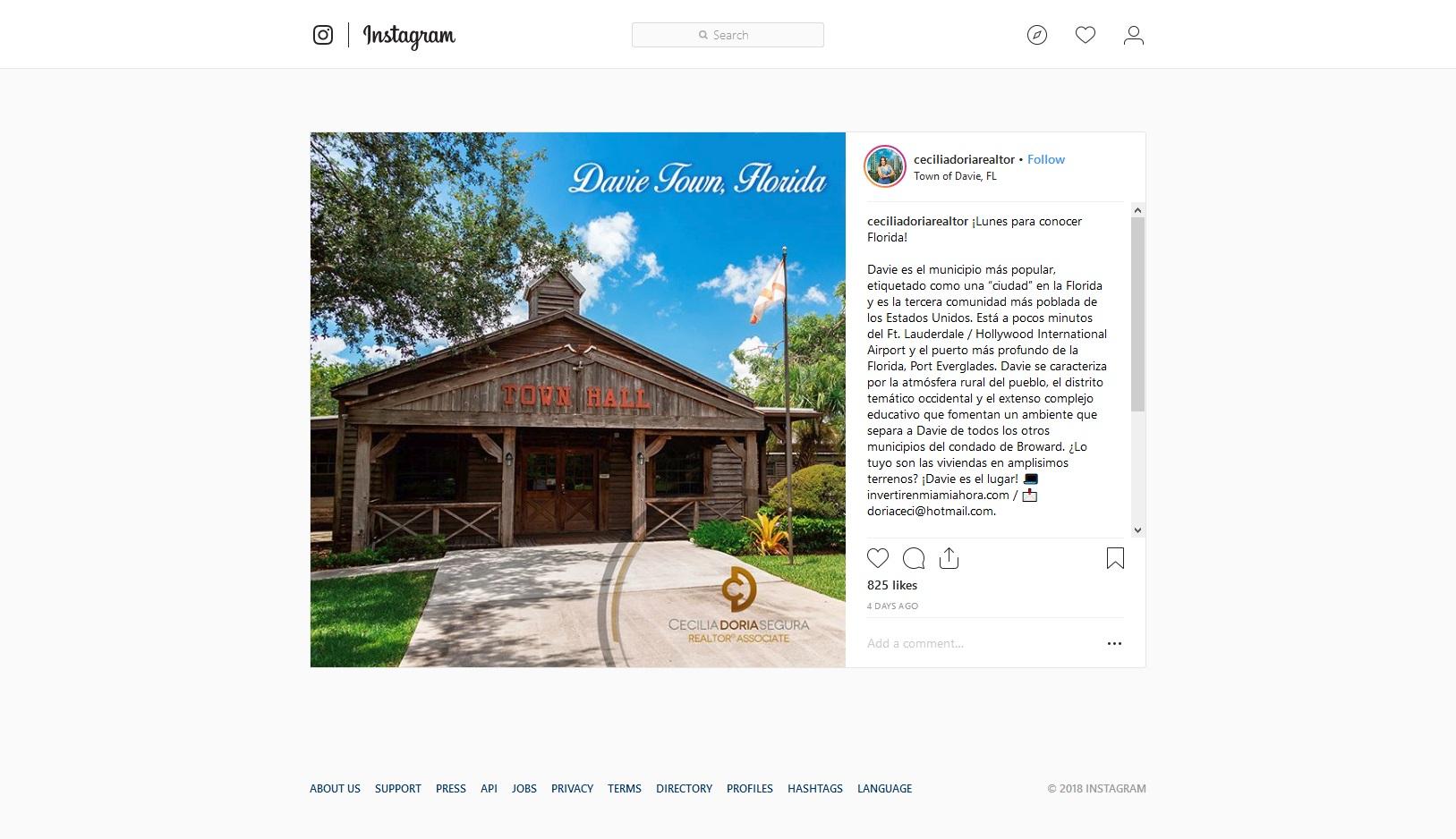 Davie Town Hall (Cecilia Doria Realtor - Florida)