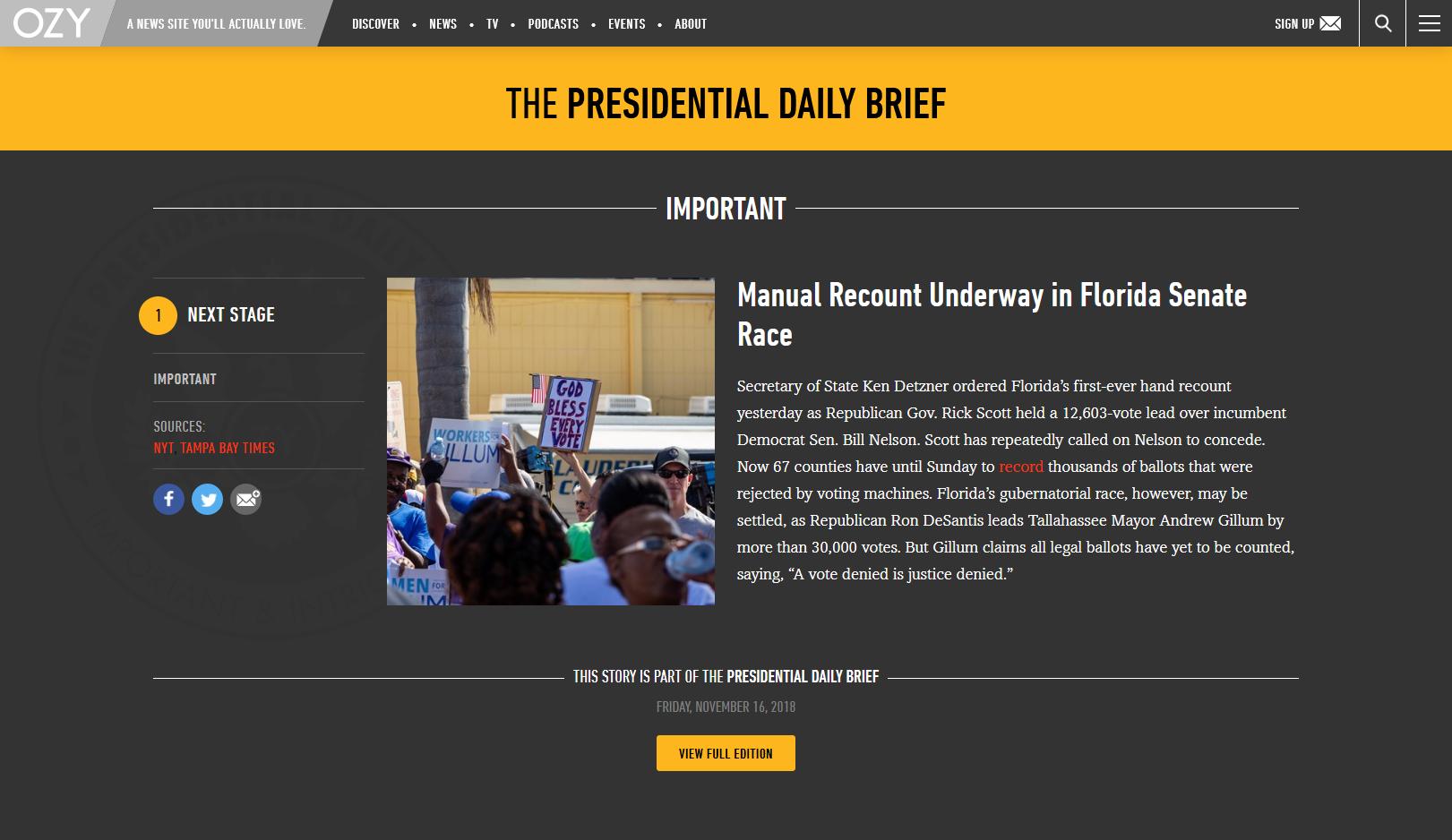 Broward protests (OZY.com)