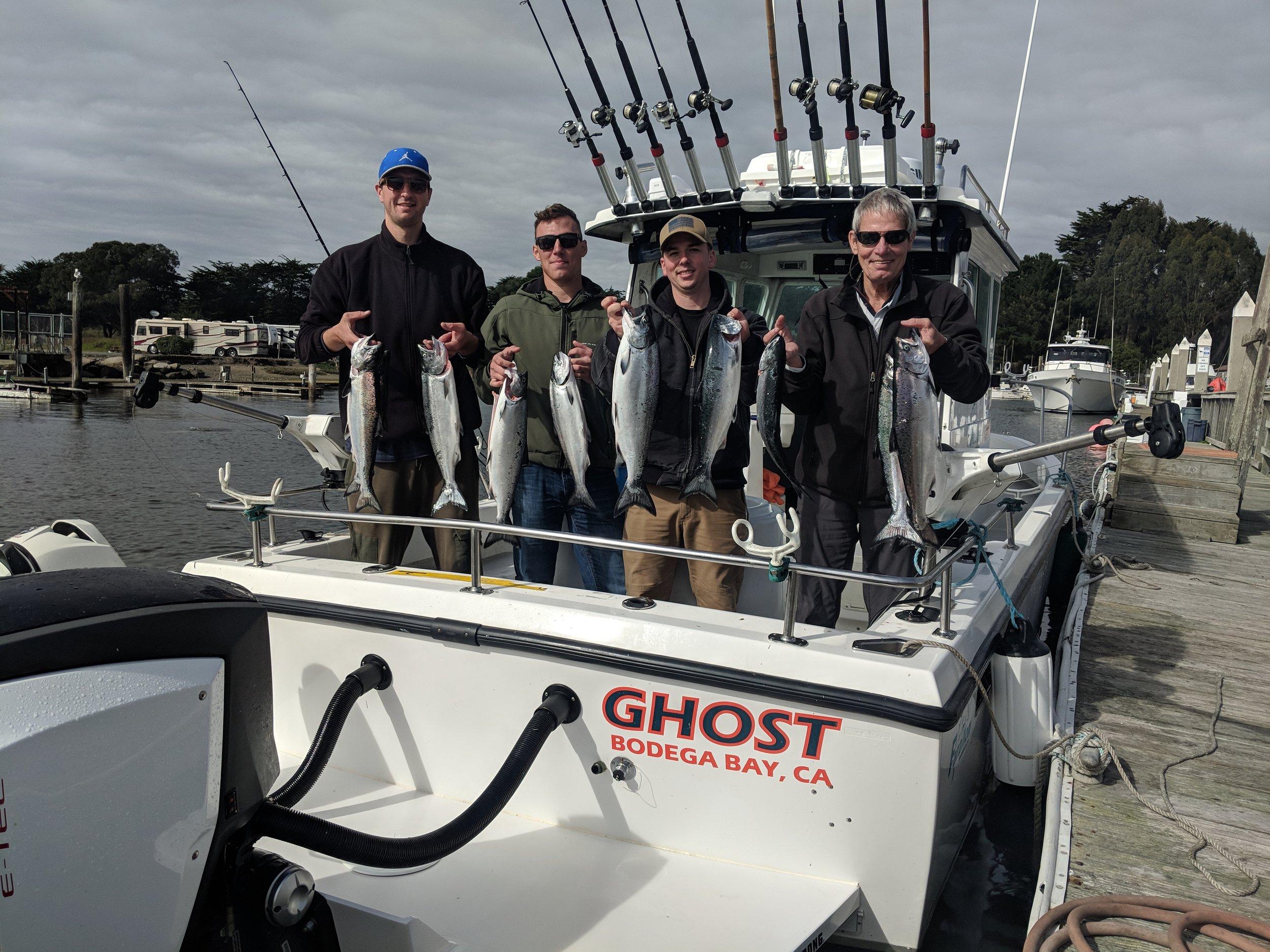 10/04 Great day salmon fishing