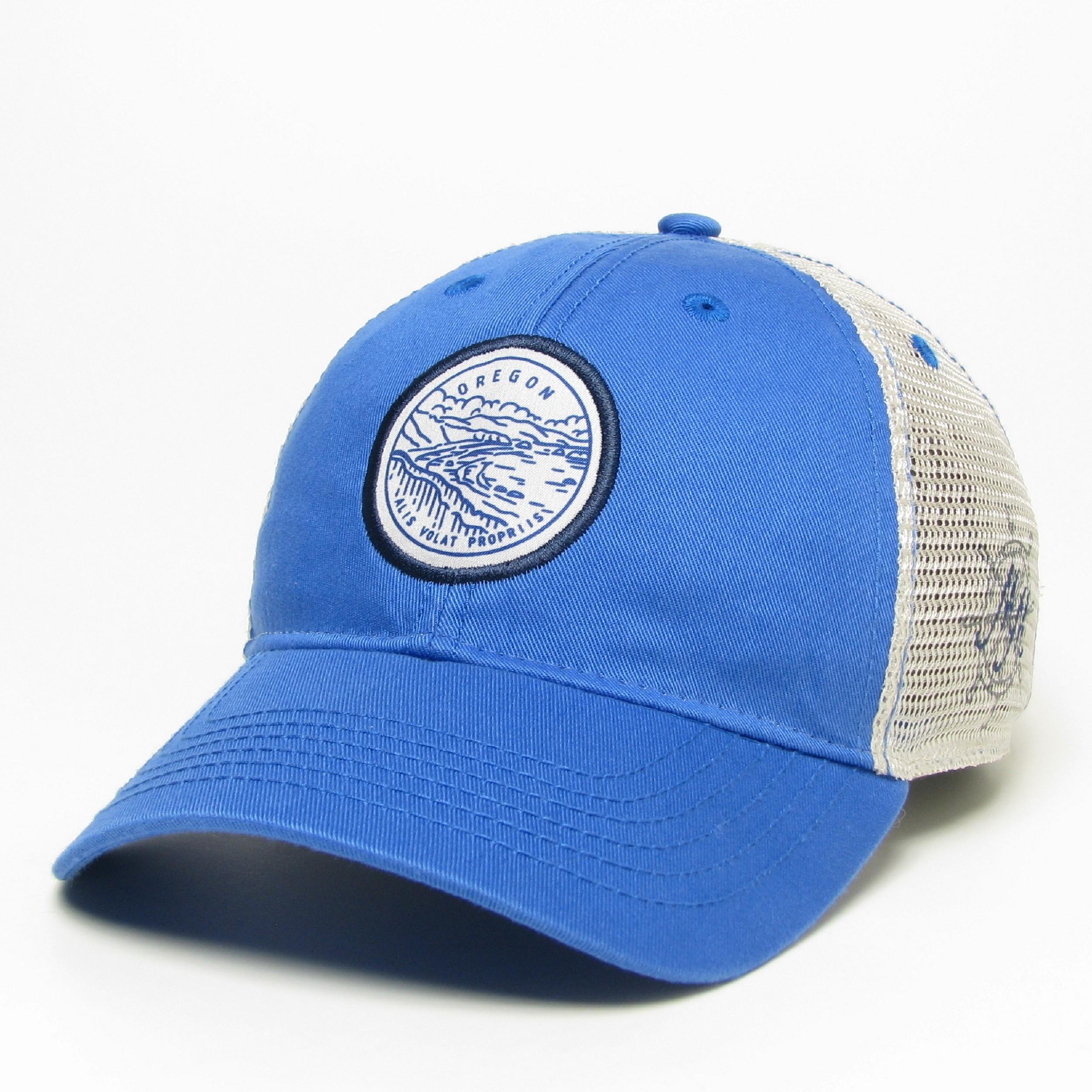 Oregon Motto Hatin Blue -