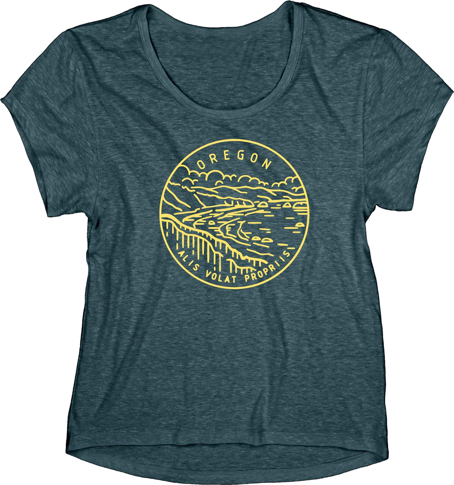 Oregon Motto Women's Tee -