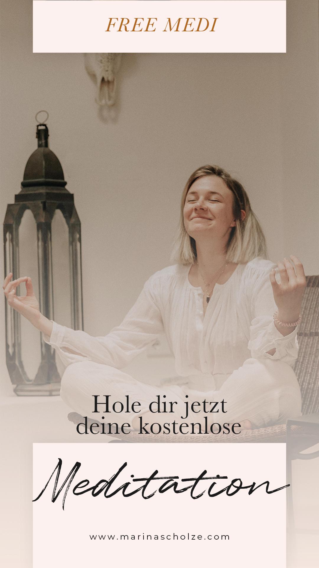 MEINE MEDITATIONEN - jetzt zum download für dich!
