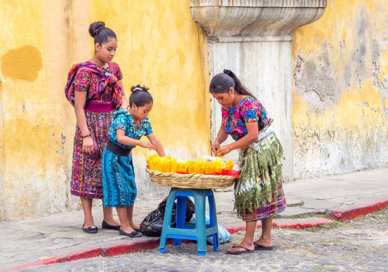 Farben aus Guatemala