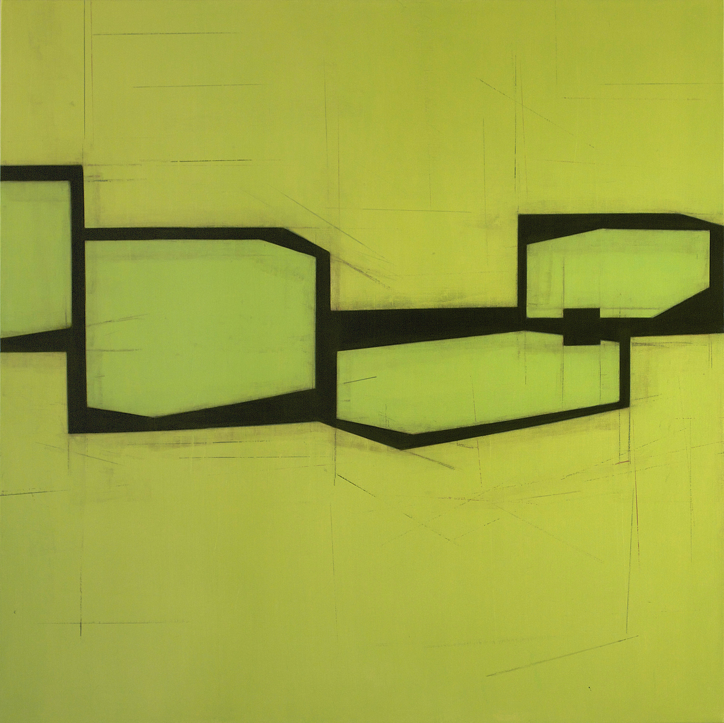 Drift E2 | 2015 | oil on canvas | 48 x 48 inches
