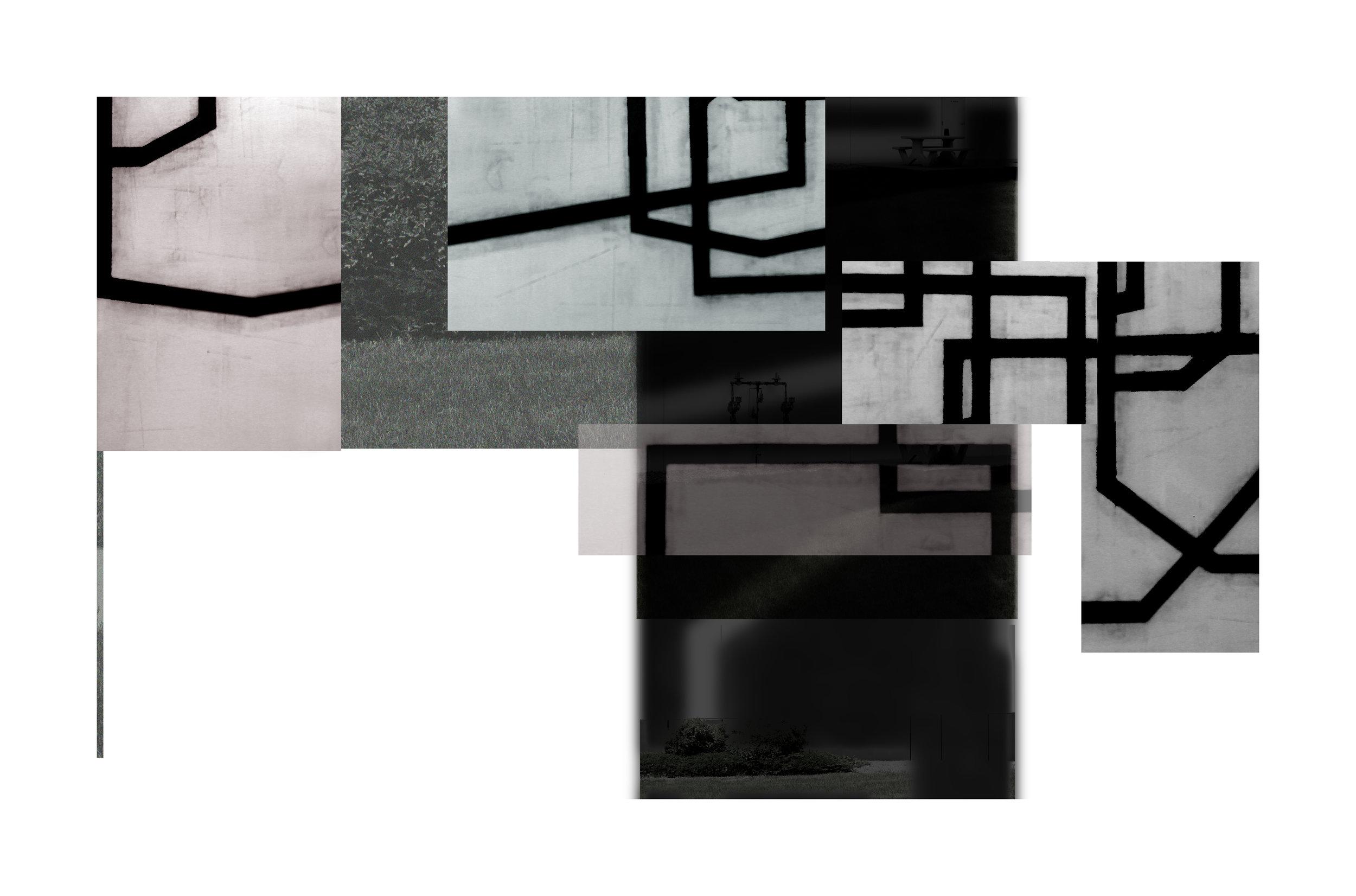 Exurban Archipelago P3 | 2018 | archival pigment print | 14.5 x 24 inches