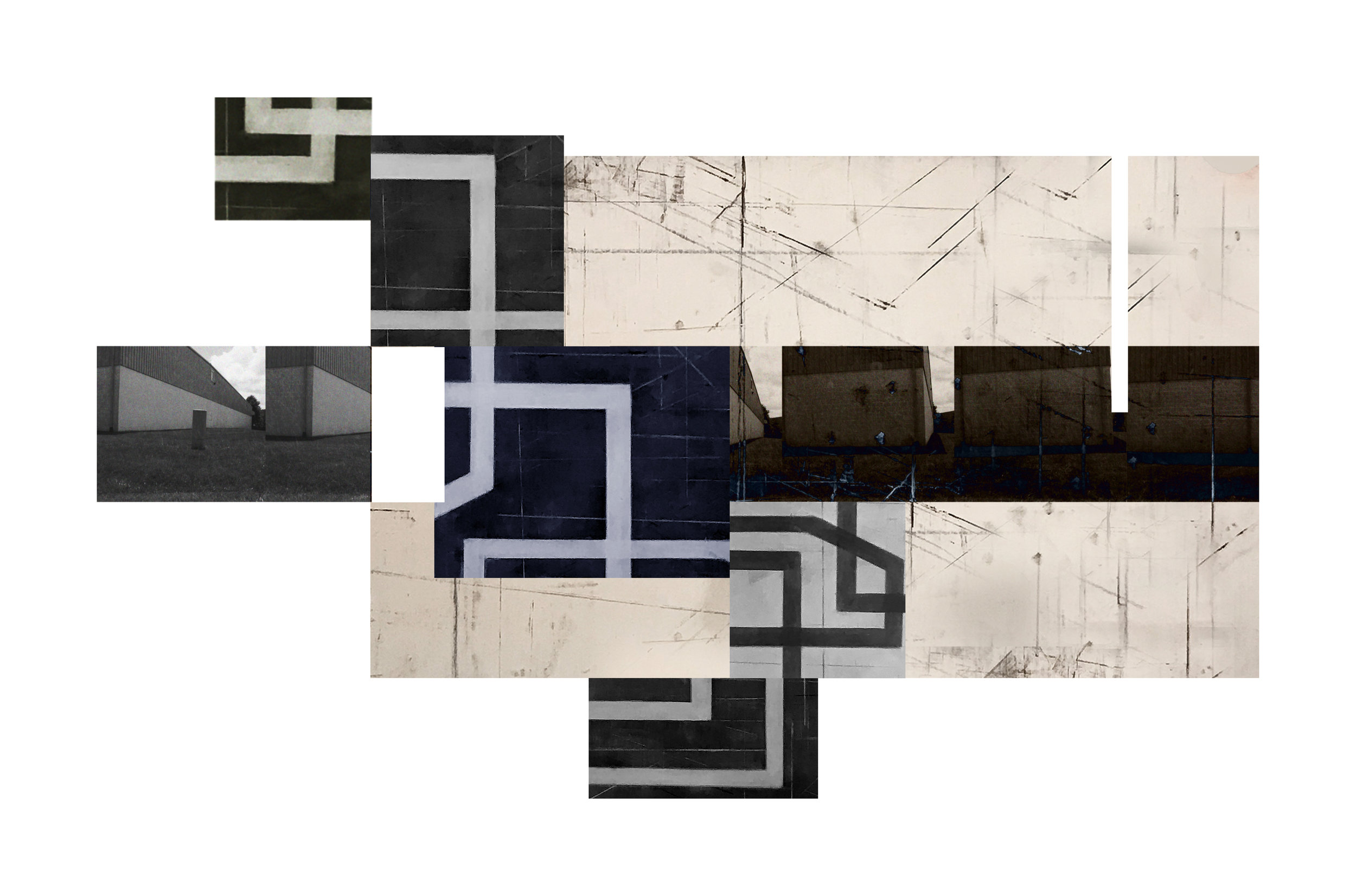 Exurban Archipelago P4 | 2018 | archival pigment print | 14.5 x 24 inches