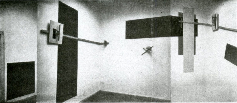 Figure 5: El Lissitzky:  Prounenraum [Proun Room]