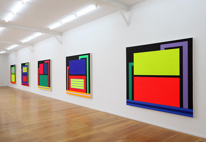 Figure 12: Peter Halley Exhibition, Xippas Gallery, Paris, 2013 | https://www.xippas.com/exhibition/peter-halley/