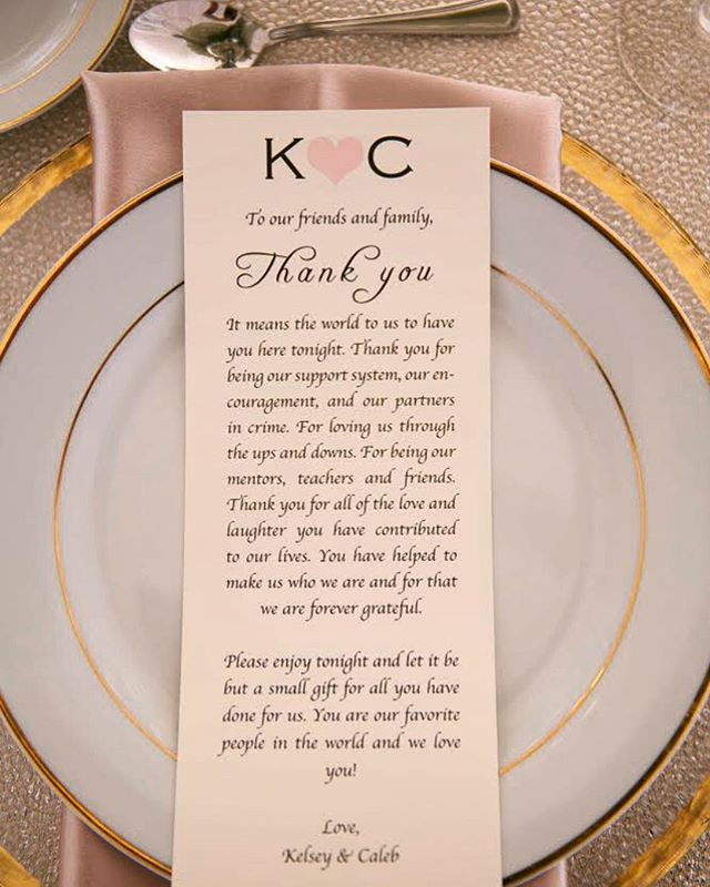 We loved this lovely touch of gratitude our bride & groom wanted to express as soon as their guests were seated. ⠀⠀⠀⠀⠀⠀⠀⠀⠀⠀⠀⠀ ⠀⠀⠀⠀⠀⠀⠀⠀⠀⠀⠀⠀ ⠀⠀⠀⠀⠀⠀⠀⠀⠀⠀⠀⠀ ⠀⠀⠀⠀⠀⠀⠀⠀⠀⠀⠀⠀ ⠀⠀⠀⠀⠀⠀⠀⠀⠀⠀⠀⠀ ⠀⠀⠀⠀⠀⠀⠀⠀⠀⠀⠀⠀ ⠀⠀⠀⠀⠀⠀⠀⠀⠀⠀⠀⠀ ⠀⠀⠀⠀⠀⠀⠀⠀⠀⠀⠀⠀ #thankyou #stationery #beautifuldesign #eleganttouch #weddingplanner #weddingstationery #lovewhatyoudo #curatingexperiences #KimballEvents #weddingandevents #elegant #thekeyisinthedetails #workhard #tablescapes #weddingwednesday #wedding #Ido #eventpros #eventplanner #events #eventdesign #design