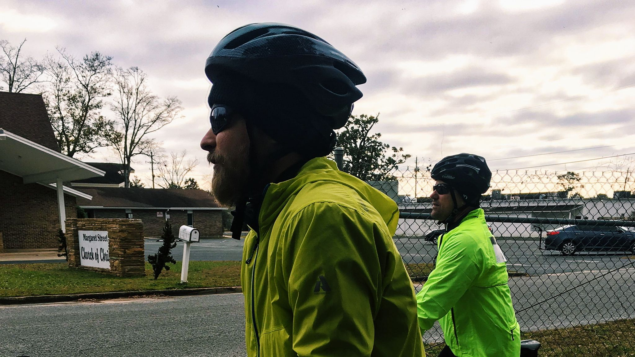 Team MPPH Member and Fit For Hope Athlete, Beau Vermillion, mentally preparing for his longest ever ride, all to raise support for abused women.