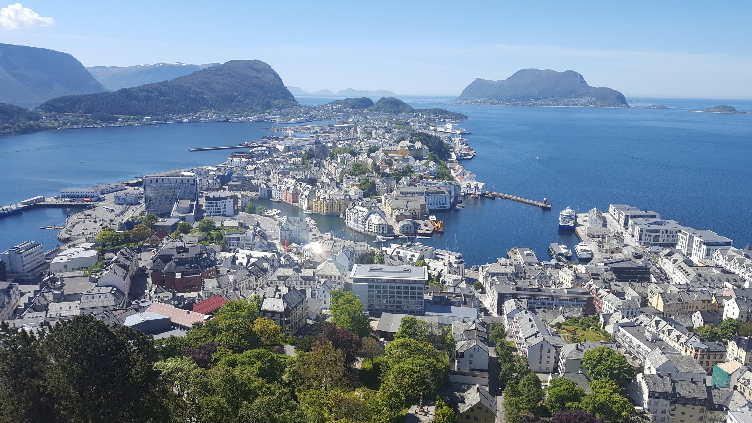 Alesund, Norway -