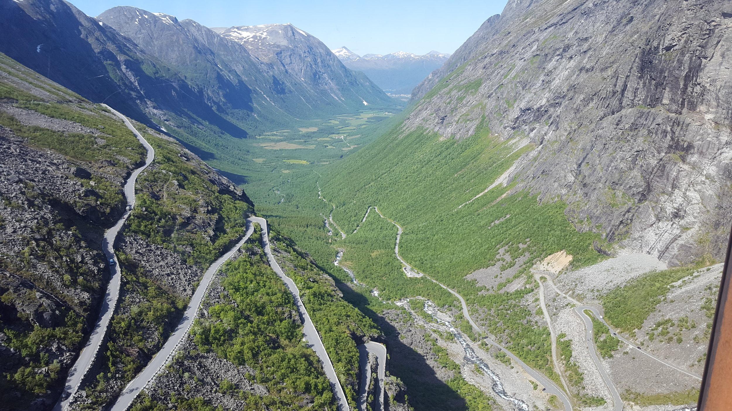 Trollstigen Scenic Road -