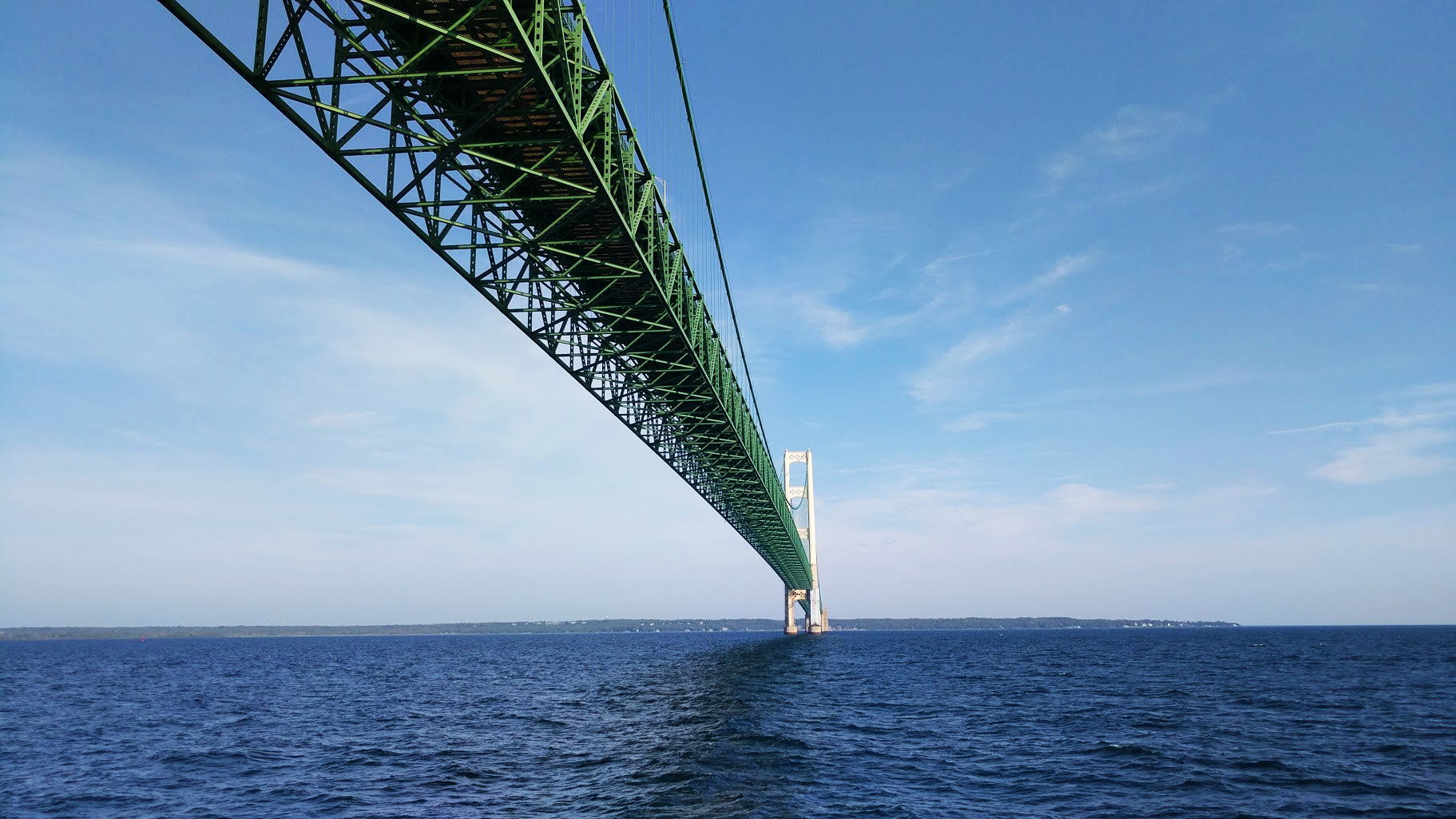 Straits of Mackinaw, MI, USA -