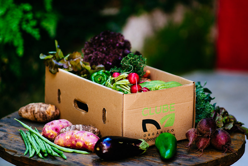 Clube Orgânico – cestas de orgânicos