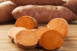 500g batata doce branca, laranja ou roxa