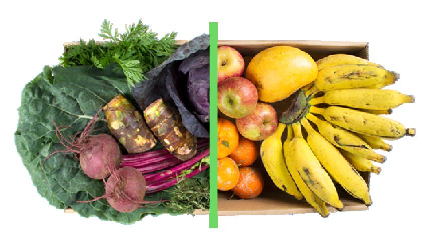 Vegetais + frutas - BENEFÍCIOS INCLUSOS> Sua cesta personalizada> + 1 cesta de frutas orgânicas> Apenas + R$ 49,98 por entrega