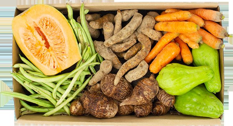 Legumes pequena - R$ 45,95 por cesta
