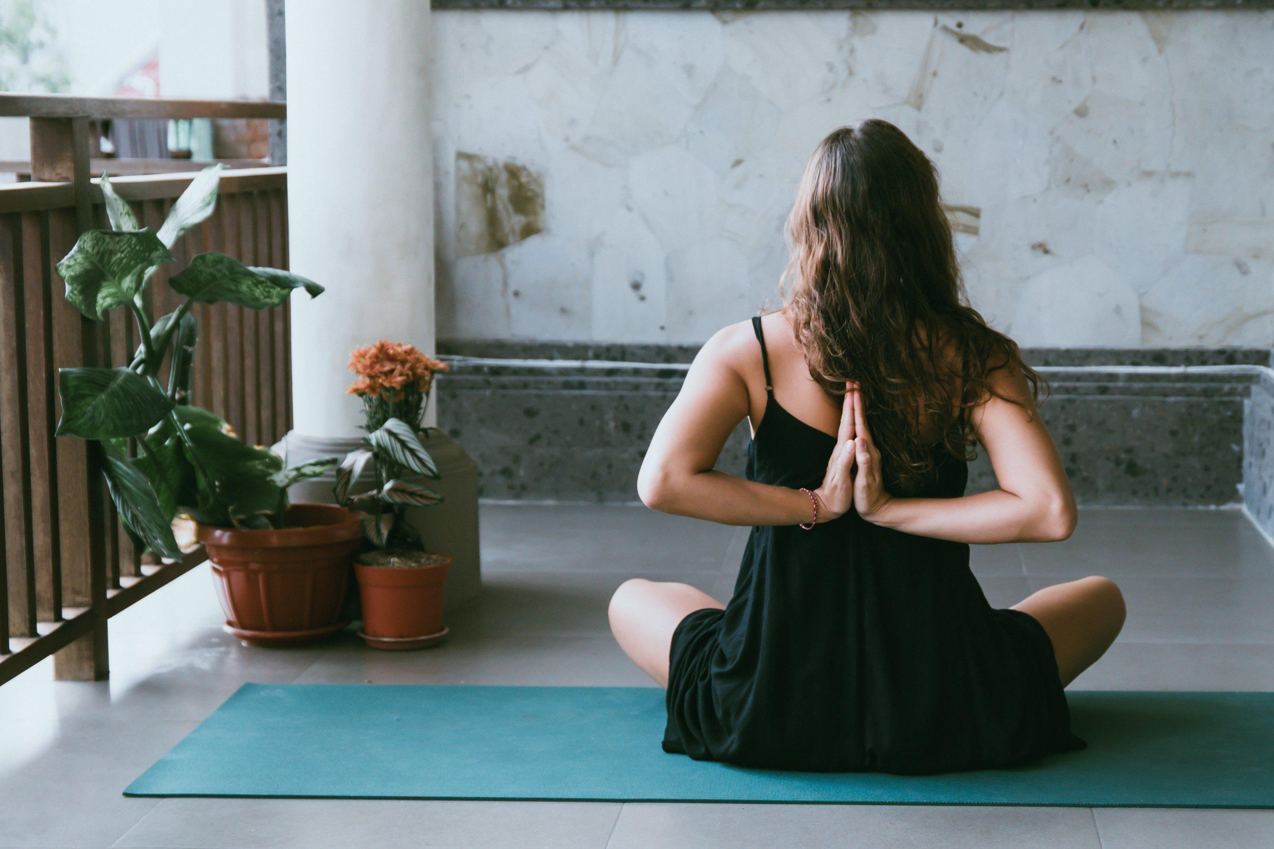 Pegue seu yoga mat e… - Namastê!