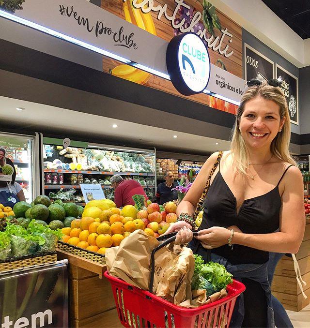 Alô, Petrópolis! Já fez as suas compras orgânicas na loja do @armazem_do_grao da Mosela? Agora, todo dia tem Clube Orgânico 💚  Carrinho cheio de saúde e vazio de agrotóxicos, hein 😘👨🌾 #VemProClube #PetrópolisMaisOrgânica