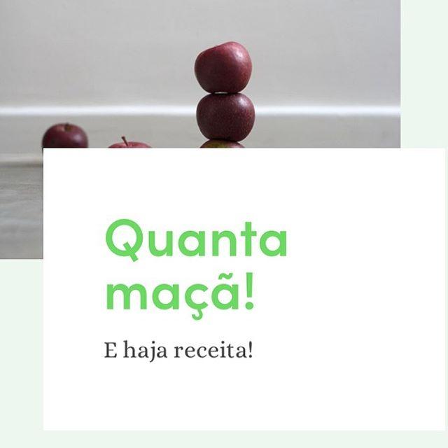 Sabe que dia é hoje? Um ótimo dia para você aprender novas receitas de maçã 🍎, então corre no Wiki do Link na Bio e aprenda maravilhosas receitas no nosso Blog 😋 📒 . #VemProClube #Maça #Receitas #ReceitasDeMaça #Orgânicos #ClubeOrgânico #ClubeOrganico #ClubeOrgânicoRJ