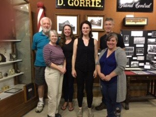 L to R: Jack Brezina, Ruth Carter, Kate Butler, Madeleine Donohue, Paul Vorvis and Amy Brohm