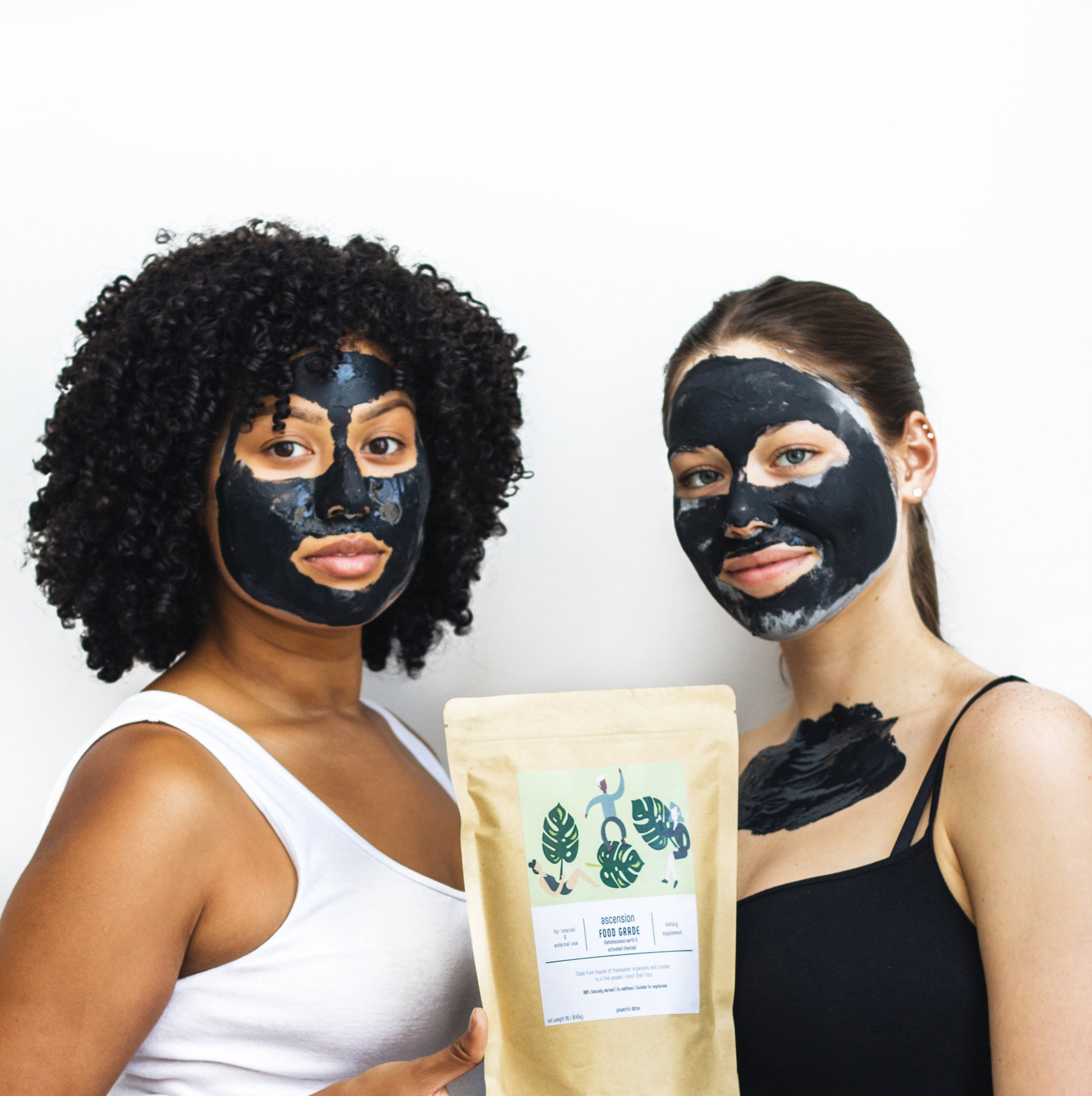 Shop Organic Skincare - Our multi-use, clay mask/dietary supplement products only contain 100% organic ingredients with no addictives whatsoever.