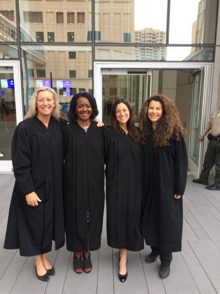 Hon. Cindy Davis, Hon. Terri Roberts, Hon. Pennie McLaughlin, Hon. Tamila Ipema