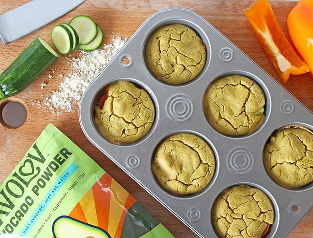 Happy Earth Day! We like to treat everyday like earth day by sustainably sourcing our avocados to bring you the best foods and ingredients to add to your dishes. ⠀⠀⠀⠀⠀⠀⠀⠀⠀ 🌍 🌎 🌏  Check out these Avocado Chickpea Breakfast Muffins! ⠀⠀⠀⠀⠀⠀⠀⠀⠀⠀⠀⠀ ⠀⠀⠀⠀⠀⠀⠀⠀⠀⠀⠀⠀ ⠀⠀⠀⠀⠀⠀⠀⠀⠀⠀⠀⠀ Ingredients: ⠀⠀⠀⠀⠀⠀⠀⠀⠀⠀⠀⠀ 2 cups garbanzo bean (chickpea) flour 3 tablespoons nutritional yeast 4 tablespoons @eatavolov Avocado Powder⠀⠀⠀⠀⠀⠀⠀⠀⠀⠀ 1 teaspoon baking powder ⠀⠀⠀⠀⠀⠀⠀ 1/2 teaspoon garlic powder ⠀⠀⠀⠀⠀⠀⠀ 1/2 teaspoon onion powder ⠀⠀⠀⠀⠀⠀⠀ 1/2 teaspoon salt ⠀⠀⠀⠀⠀⠀⠀⠀⠀⠀⠀⠀ 1/4 teaspoon black pepper ⠀⠀⠀⠀⠀⠀⠀ pinch cayenne pepper ⠀⠀⠀⠀⠀⠀⠀⠀⠀⠀⠀ 1 cup unsweetened almond milk 1 1/2 cups water ⠀⠀⠀⠀⠀⠀⠀⠀⠀⠀⠀⠀ 1 red pepper, diced ⠀⠀⠀⠀⠀⠀⠀⠀⠀⠀⠀⠀ 1 small zucchini, sliced ⠀⠀⠀⠀⠀⠀⠀⠀⠀⠀ ⠀⠀⠀⠀⠀⠀⠀⠀⠀⠀⠀⠀ ⠀⠀⠀⠀⠀⠀⠀⠀⠀⠀⠀⠀ #earthday #eatavolov #avocadopowder #glutenfree #keto #paleo #plantbased #vegansofig #foodie #poweredbyplants #instagood #plantbaseddiet #buzzfeast #eatclean #healthy #healthyish #buzzfeedfood