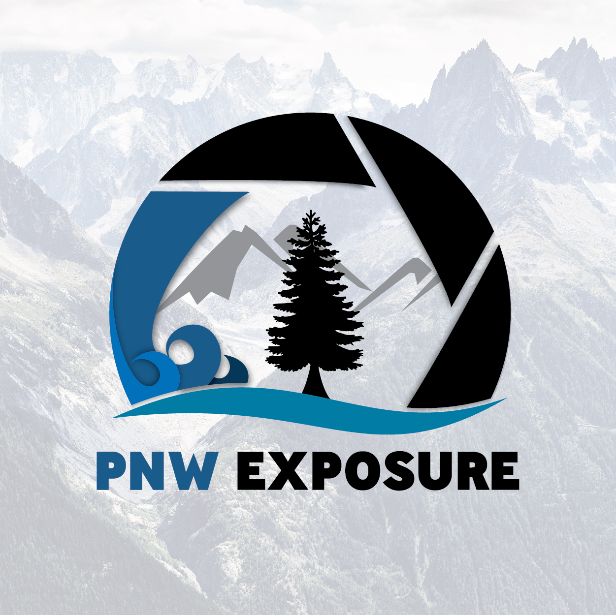 PNW exposure  |  branding + graphic design