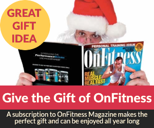 Give a Gift Subscription to OnFitness Magazine