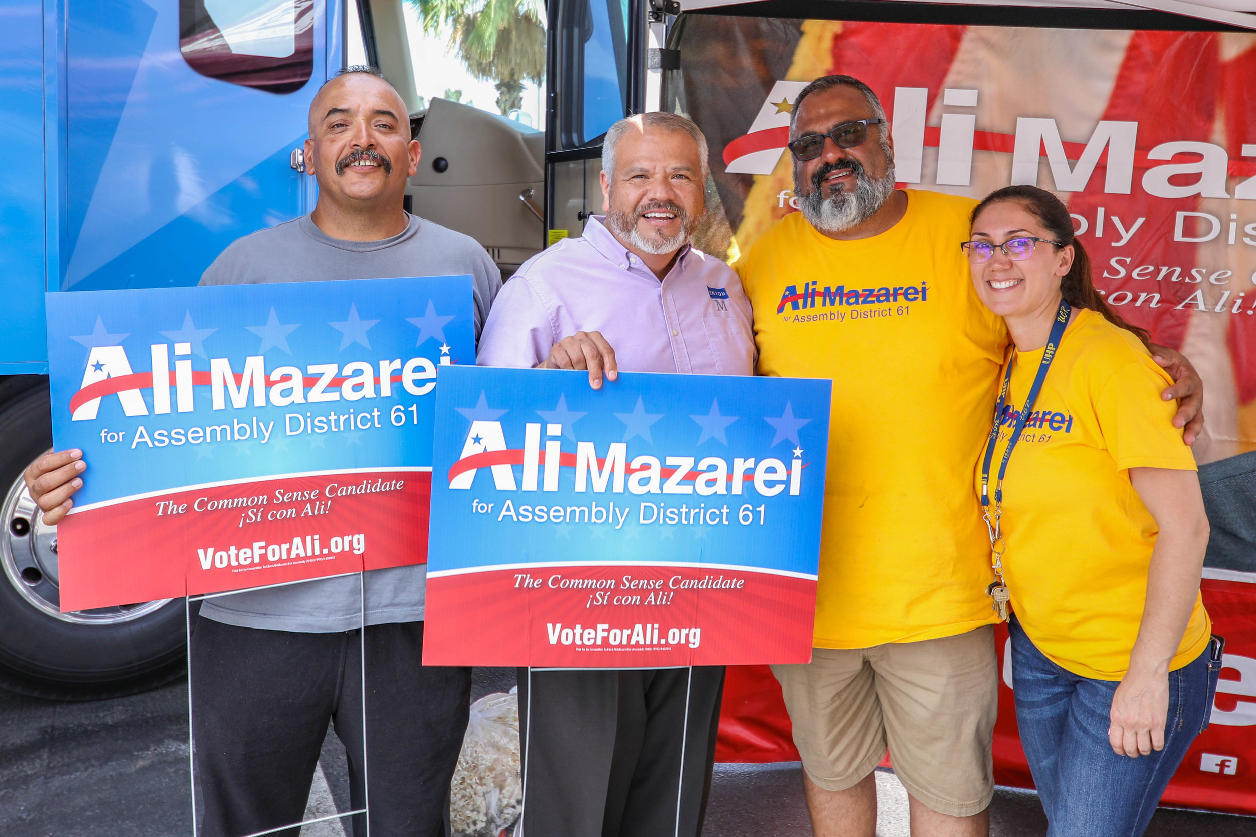 Vote Yes on 6 and Vote For Ali Mazarei