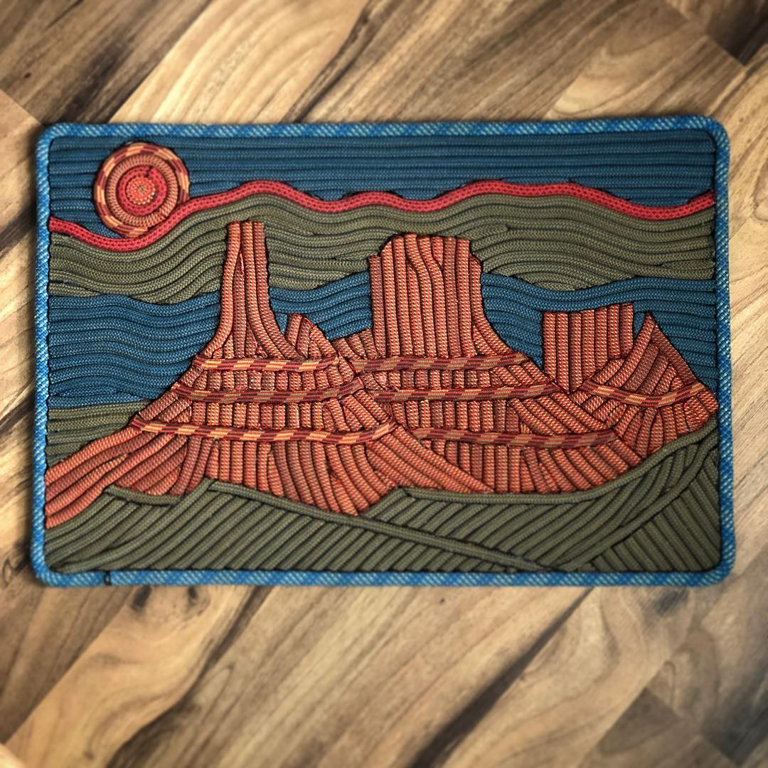 """Castle Valley"" Rope Rug"