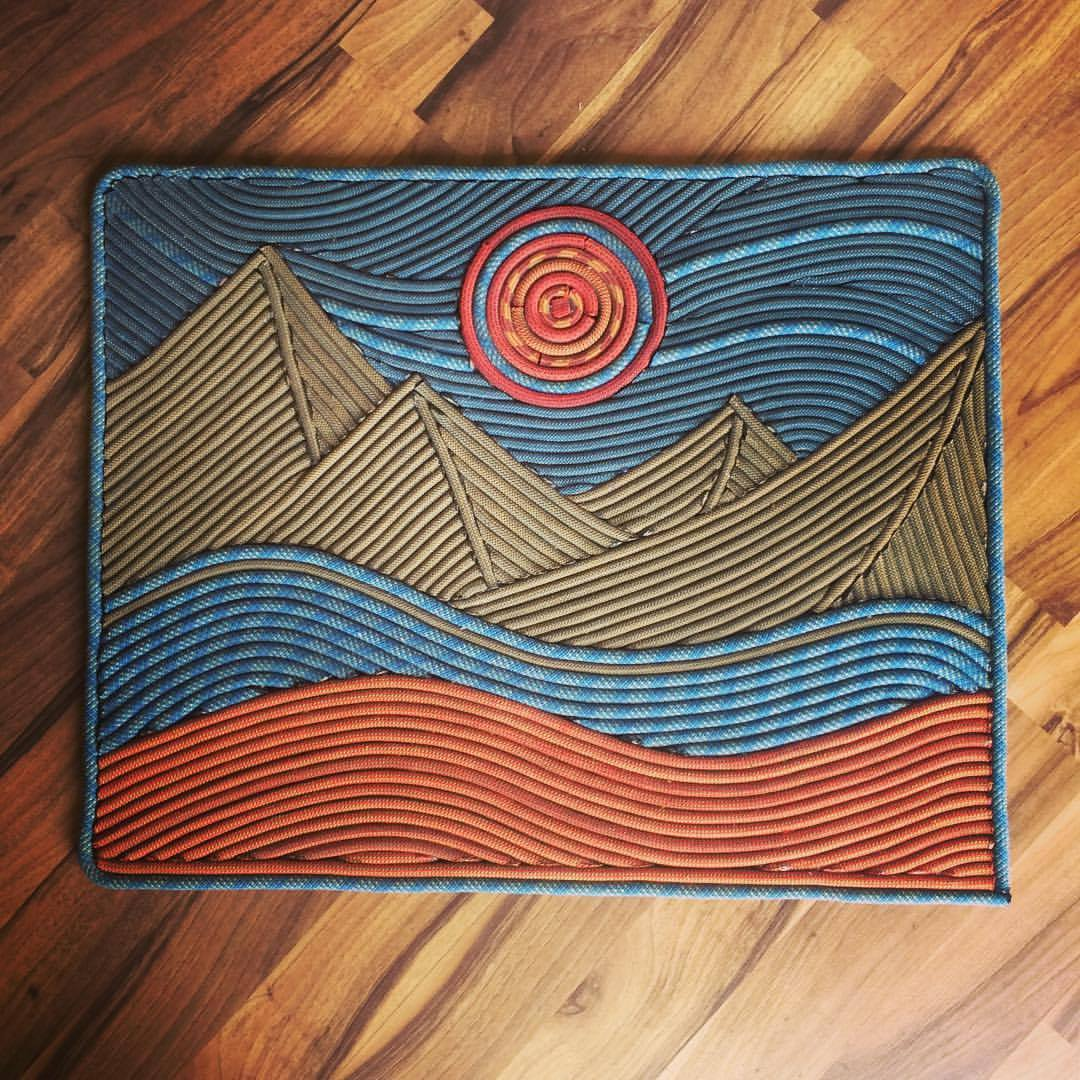"""Foothills"" Rope Rug"