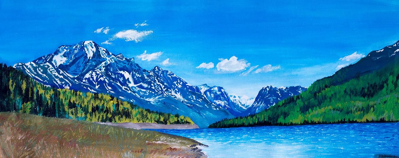 """Eklutna Lake"""