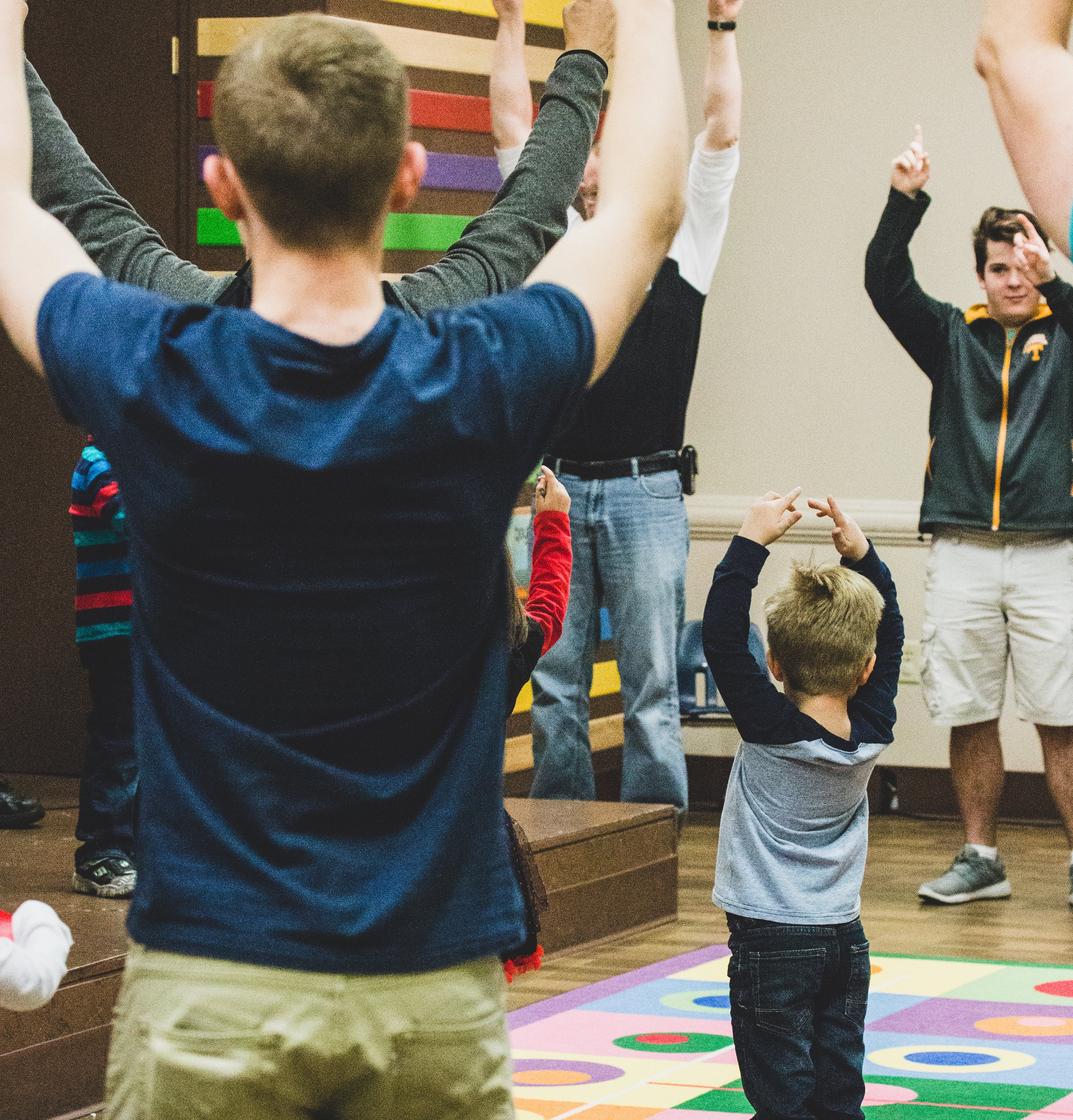Want to serve in Preschool? - Help make a difference in preschoolers' lives.