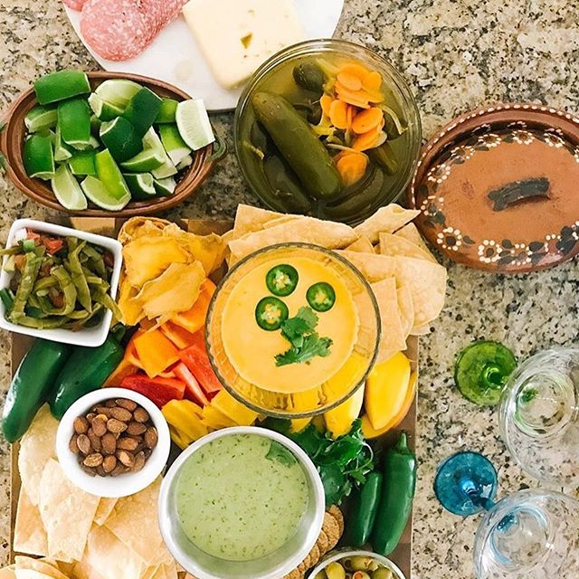 Happy Cinco De Mayo!!! What does your spread look like?  Ours has watermelon & tajín and modelos for sure!! 🍺🍉🇲🇽