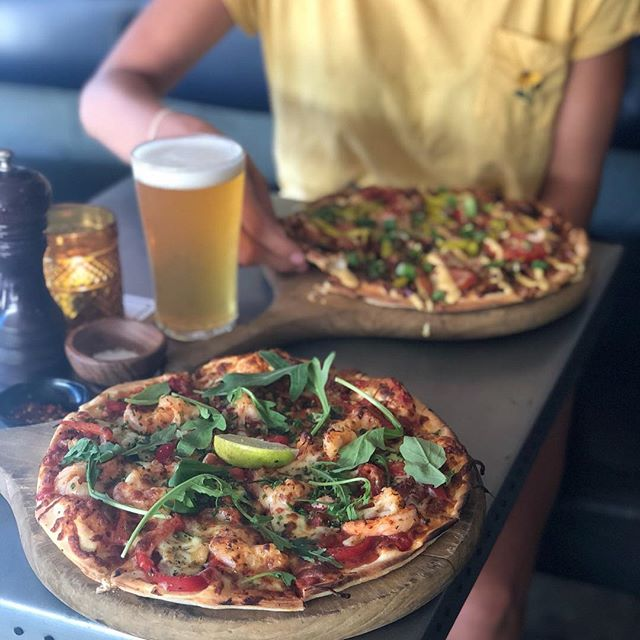 When the PIZZA LIFE chooses you 😍. @stowawaybar are having their epic $15 Pizza & Beer/ Vino deal tonight. Bring the GANG GANG or just eat all of the pizza to yourself. 🙌🙌🙌