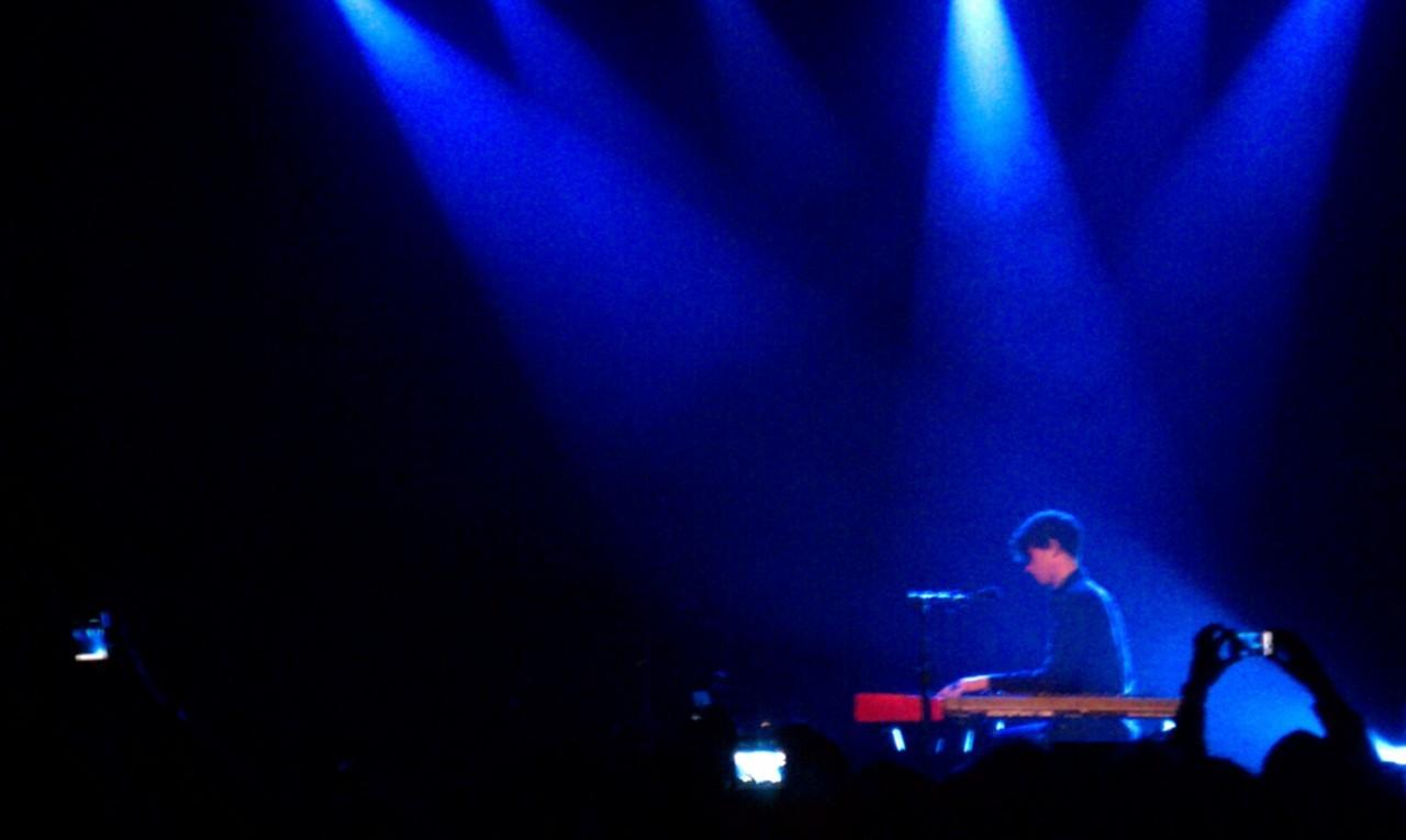 Amazing show!      swani :     James Blake is music.