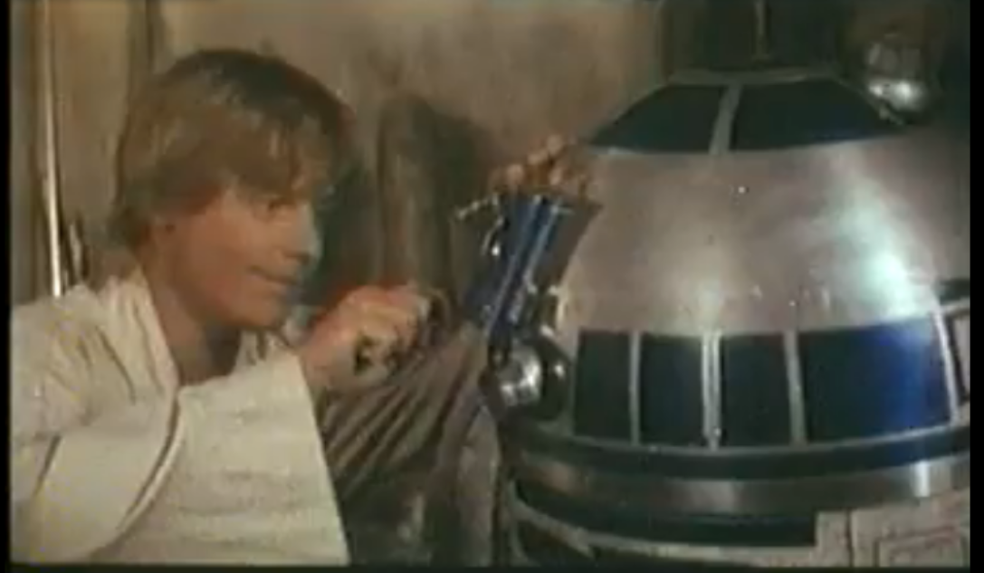 Hottie & Cutie - May the 4th Be With Us      command-shift-4 :       Star Wars Episode IV: A New Hope (1977)