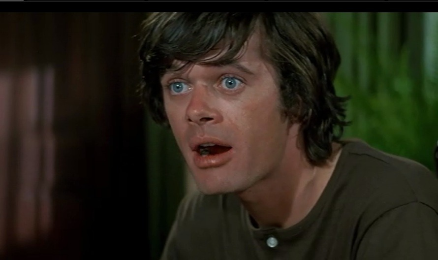 Leeland (Michael Sarrazin) in      Sometimes a Great Notion     (1971)  Never Give an Inch